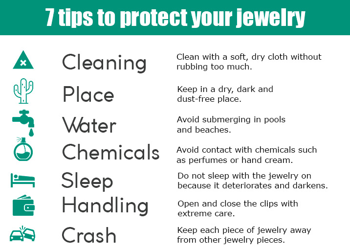 Tips to protect your jewelry