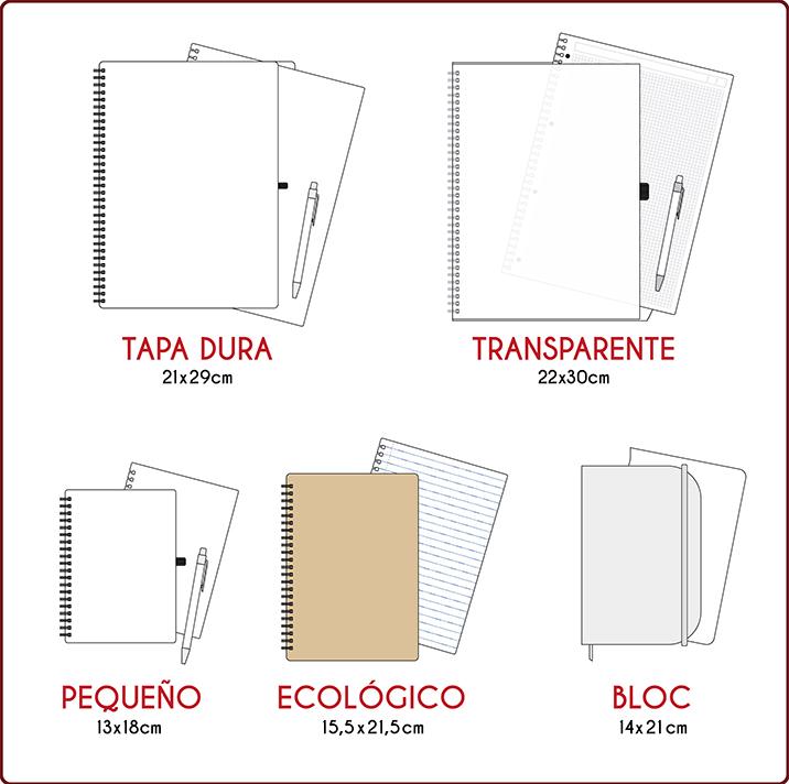 Guia de cuadernos personalizados